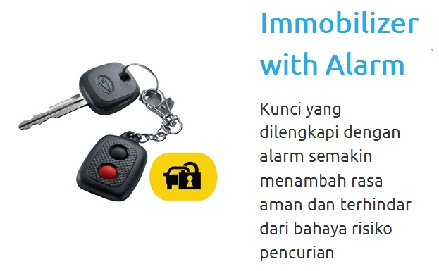 immobilizer  kunci mobil sirion